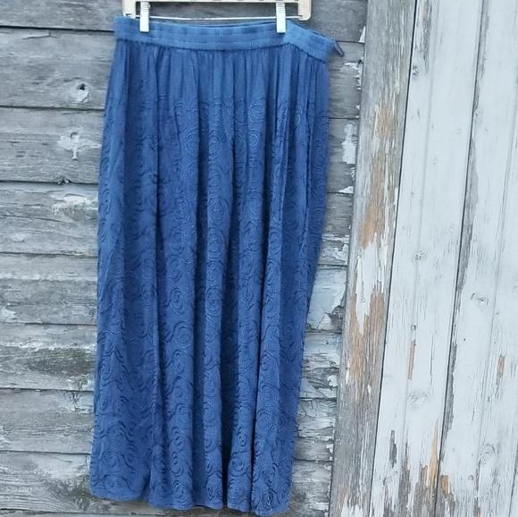 b52ff3d77086 Silhouettes Skirts | Boho Embroidered Maxi Skirt | Poshmark